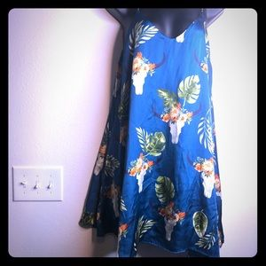 Cow min dress